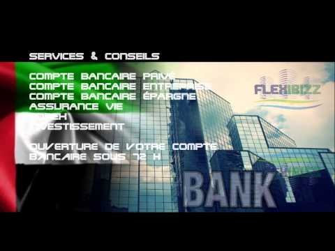 Ouvrir un compte bancaire à Dubai avec carte bancaire Société ou privé Flexibizz