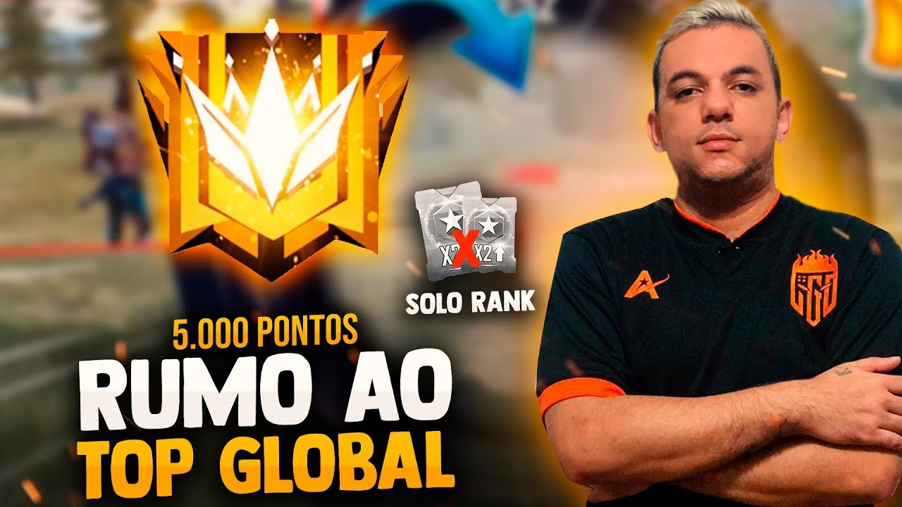 🚩FREE FIRE AO VIVO🔴SOLO RANKED INSANA RUMO AO TOP 300 DESAFIANTE 🔴 LIVE ON #LOSGRANDES