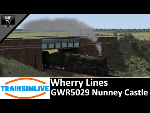 Train Simulator - Wherry Lines, GWR5029 Nunney Castle