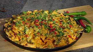 Chipotle Cheese Nachos -KuchniaKwasiora