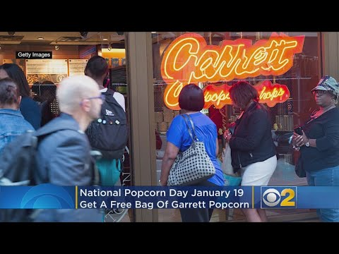 Mick Lee - Garrett Popcorn To Give Away Free Popcorn On National Popcorn Day