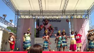 Papua New Guinea JAs Dance @ APCC 2013 (日本福岡)