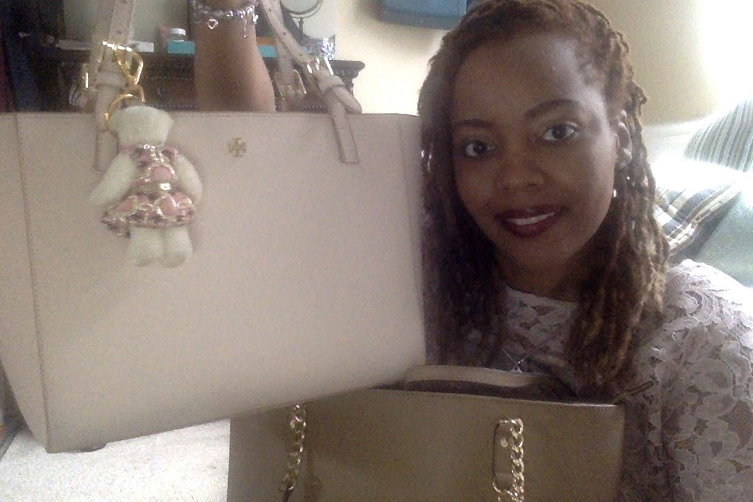 b7ab6274c Switching from Michael Kors Tote to Tory Burch Tote - YouTube