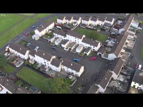 Aerial View Of Harryville Ballymena