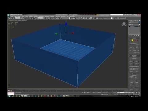 Como modelar una casa en 3d max tutorial 1 youtube for Modelar habitacion 3d max