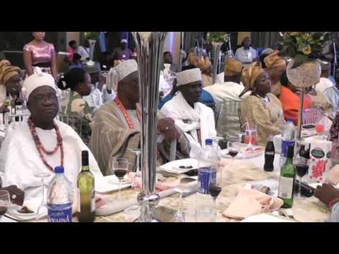 Wedding of Nigerian ambassador's son