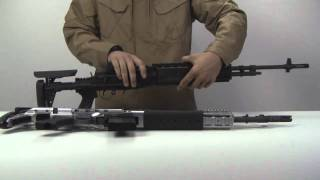 PeopleAirsoft.com - WE Tech M14 EBR Conversion Kit Review