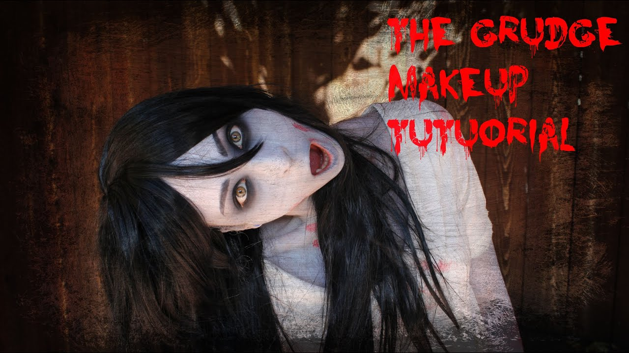 The Grudge Makeup Tutorial | Halloween 2015 - YouTube