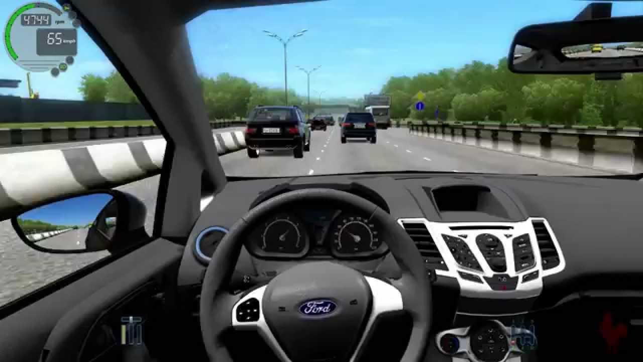 City Car Driving - Ford Fiesta Zetec S