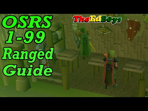 OSRS 1-99 Range Guide | Updated Old School Runescape Ranged Guide