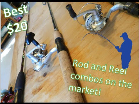 Best $20 Rod And Reel Combos On The Market! Great Starter Fishing Gear!