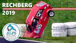 Rechberg hillclimb 2019   Rechbergrennen   cronoscalata Bergrennen   highlights, crash & action [HD]