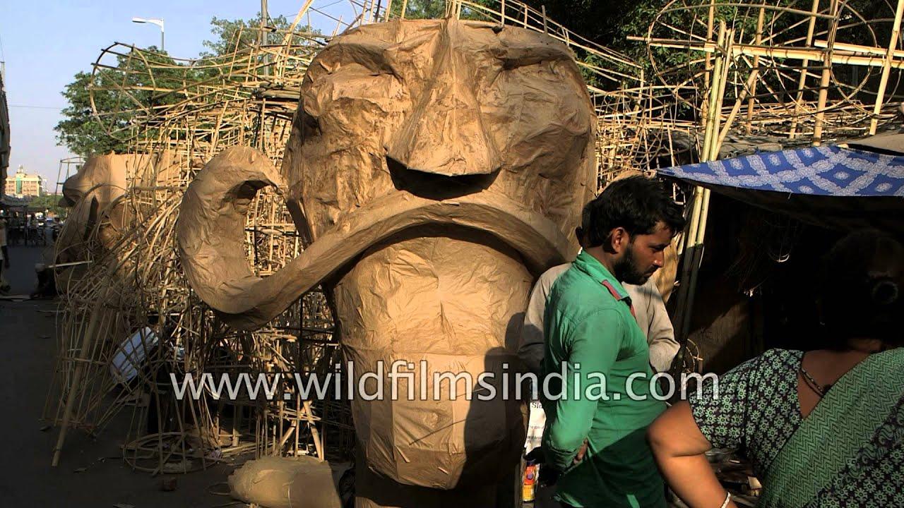how to make ravana effigy at home