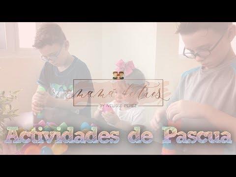 Actividades de Pascua - Mama de tres
