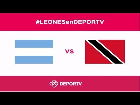 #LEONESenDEPORTV - Argentina vs. Trinidad y Tobago (Copa Panamericana Lancaster 2017 - Semifinal)