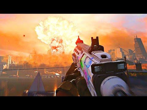 MP7 Best Class Setup... TACTICAL NUKE - (Modern Warfare PC Gameplay)