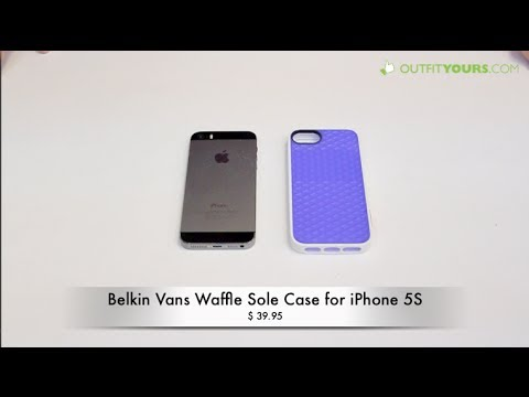 lowest price 6bb98 14d12 Belkin Vans Waffle Sole Case for iPhone 5S / 5 - Review