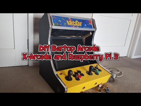 DIY Bartop arcade using Raspberry Pi 3 update 1 Marquee and Sound