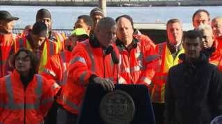 Mayor de Blasio Delivers Remarks at Department of Transportation Recognition Ceremony