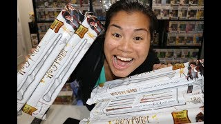 Noble Collection Harry Potter Mystery Wand Unboxing x11