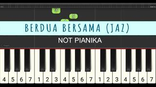 not pianika berdua bersama - Milly & Mamet - Jaz - not angka