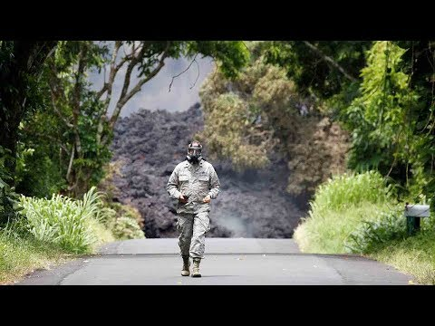 New danger for Hawaiians as lava enters Pacific Ocean