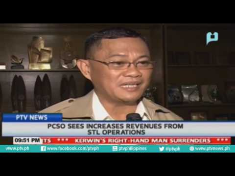 PCSO sees increases revenues from STL operations