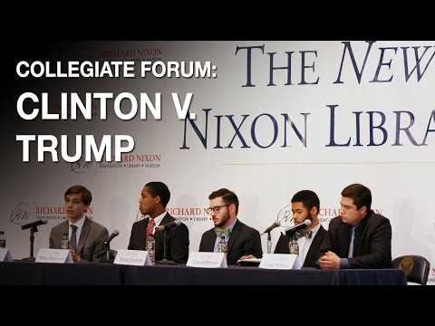 Collegiate Forum: Is Clinton or Trump Better for the College