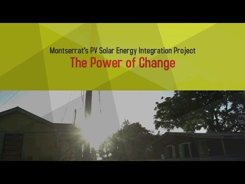 Montserrat's PV Solar Project [Number15 Video][Cinephou Video]
