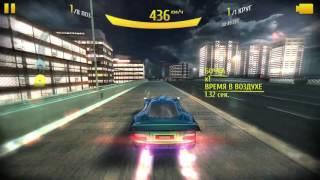 Asphalt 8--Mercedes-Benz CLK GTR AMG--Tokyo R.--Single tank
