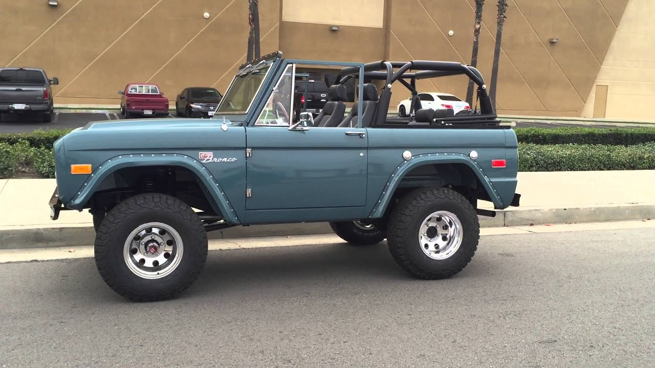 Classic Ford Bronco Restoration By Rocky Roads Custom Vintage