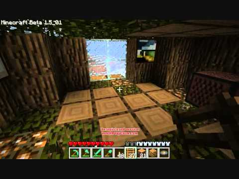 maison dans un arbre minecraft youtube. Black Bedroom Furniture Sets. Home Design Ideas