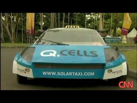 CNN: Solar-powered taxis