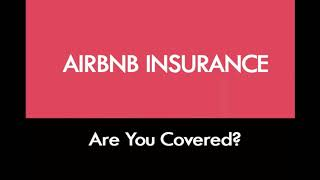 HOW TO PROTECT YOUR AIRBNB (with Insurance)