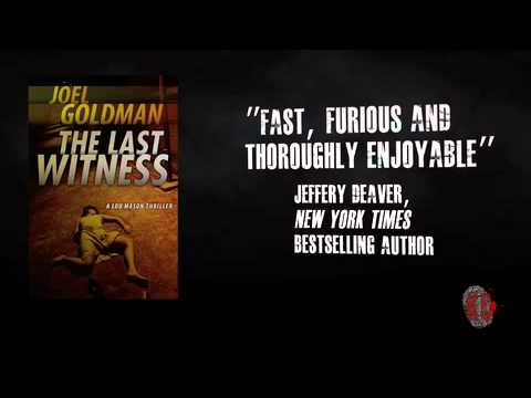 Joel Goldman - The Last Witness - Lou Mason Thriller