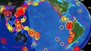 Terribles Terremotos Amenazan el Cinturón de Fuego del Pacífico
