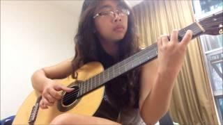 Nhớ em - Minh Vương (Fingerstyle guitar)