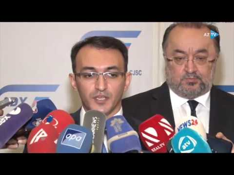 """""""ASAN Railway"""" Layihəsinə Dair Anlaşma Memorandumu Imzalanıb- AzTV 13.12.2019"""