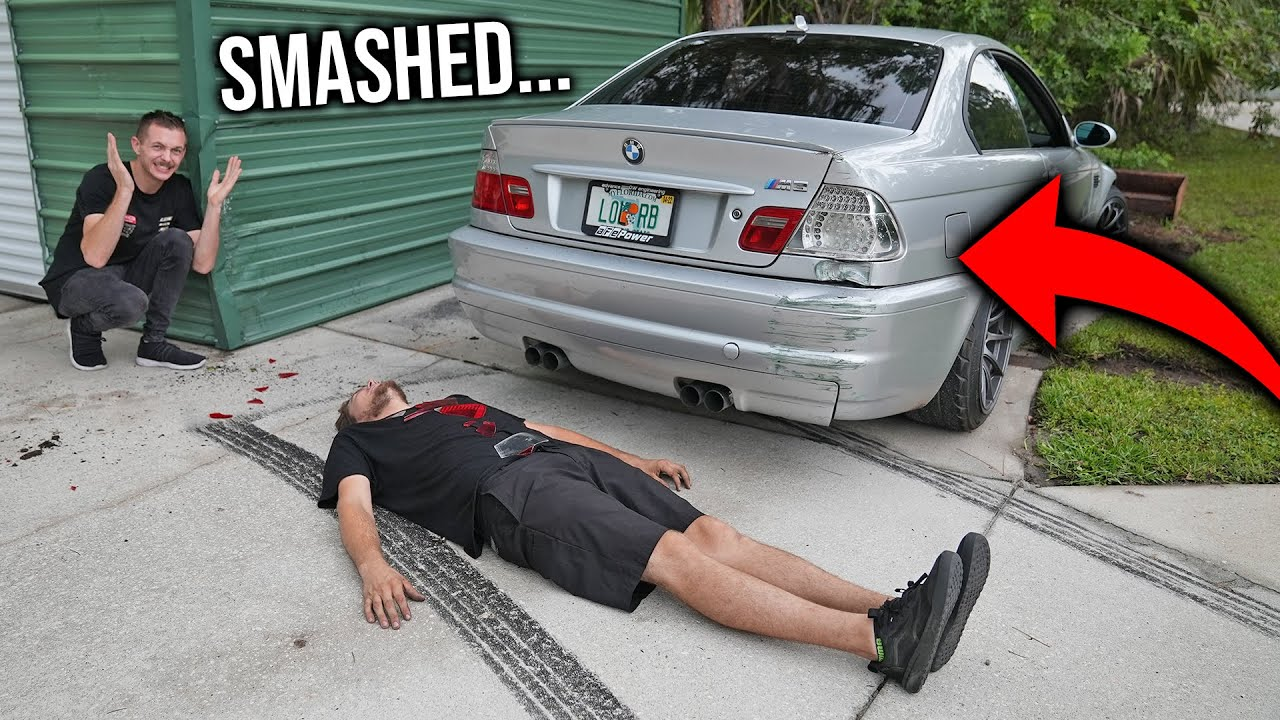 Download First Big Crash At the LZ Compound...