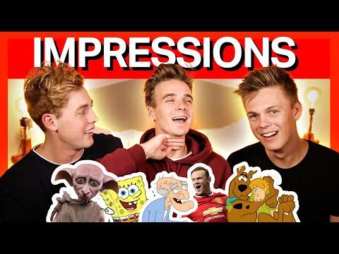ULTIMATE IMPRESSIONS CHALLENGE 2 ft. Joe Sugg, Josh Pieters