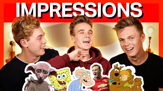 ULTIMATE IMPRESSIONS CHALLENGE 2 ft. Joe Sugg, Josh Pieters
