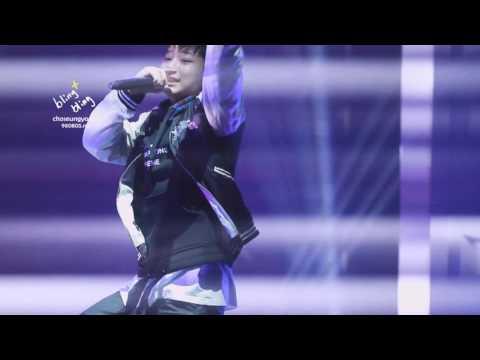 【BLINGBLING】151128 BeiJing Fanmeeting Choseungyoun rap solo