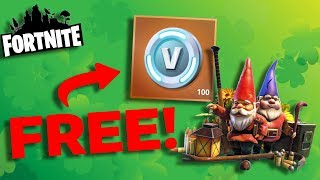 Find 5 Green Garden Gnomes Guide   Fortnite: Spring It On Event - 100 Vbucks Reward (My Name Is..)