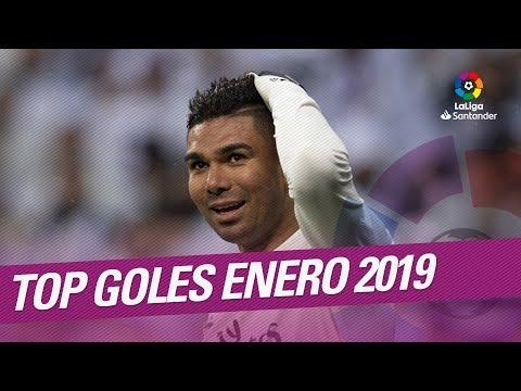 TOP 5 Goles Enero LaLiga Santander 2018/2019