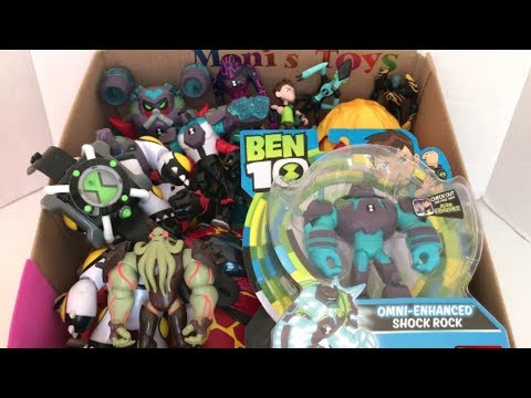 Ben 10 Toys with Names Vilgax Upgrade Omni-Enhanced Shock Rock Cannonbolt Overflow Fourarms XLR8