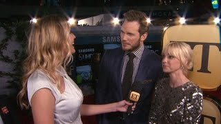 Chris Pratt & Anna Faris On Maintaining Their Happy Marriage: We Keep Our 'Eye on the Prize'
