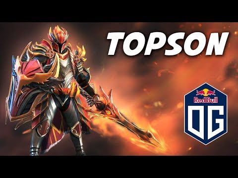 TOPSON DRAGON KNIGHT - Dota 2 Pro Gameplay