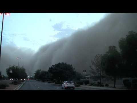 Gilbert, AZ July 5, 2011 Dust Storm