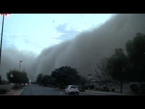 Gilbert, AZ July 5, 2011 Dust Storm