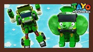 Video Tayo Rogi transforms as an elephane robot! l Tayo Rangers #9 l Tayo The Little Bus download MP3, 3GP, MP4, WEBM, AVI, FLV Maret 2018